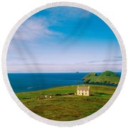 Co Kerry, Ring Of Kerry Skelligs & Round Beach Towel