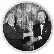 Cobb & Rockefeller, 1960 Round Beach Towel