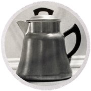 Coffee Pot, 1935 Round Beach Towel