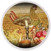 Collectibles Round Beach Towel