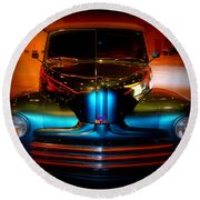 Collector Car Round Beach Towel