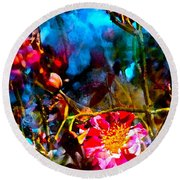 Color 91 Round Beach Towel by Pamela Cooper