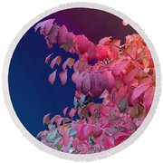Color And Form Round Beach Towel