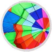 Color Wheel Take 2 Round Beach Towel