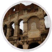Colosseum 1 Round Beach Towel