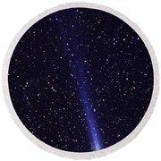 Comet Hyakutake Round Beach Towel