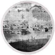 Concord, 1776 Round Beach Towel