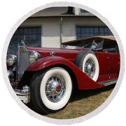 Concours D ' Elegance 1 Round Beach Towel