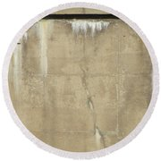 Concrete And Metal Round Beach Towel