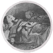 Conditions In Bellevue Hospital, New Round Beach Towel