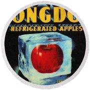 Congdon Refrigerated Apples Round Beach Towel