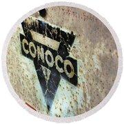 Conoco Round Beach Towel