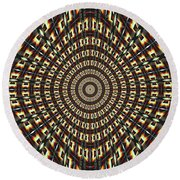 Continue Round Beach Towel