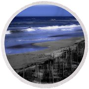Continue With This Dream Round Beach Towel