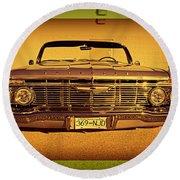 Cool Impala Round Beach Towel