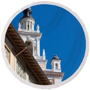 Coral Gables Biltmore Hotel Tower Round Beach Towel