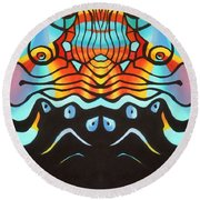 Corporate Business As Usual Round Beach Towel
