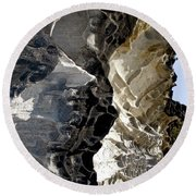 Corrosion By Nature Round Beach Towel