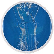 Corset Patent Series 1924 Figure 1 Round Beach Towel