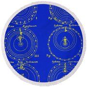 Cosmological Models Round Beach Towel by Science Source