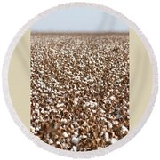 Cotton Forever Round Beach Towel