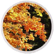 Country Color 26 Round Beach Towel