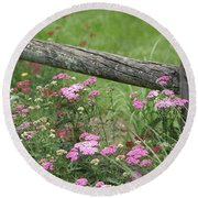Country Living Round Beach Towel