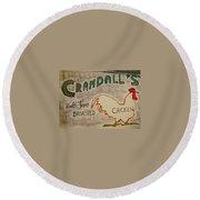 Crandalls Round Beach Towel