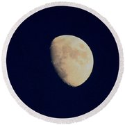 Craters Round Beach Towel