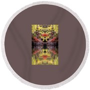 Creation17 Round Beach Towel