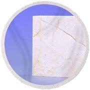 Crema Marfil Marble Round Beach Towel