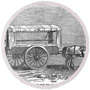 Crimean War: Ambulance Round Beach Towel