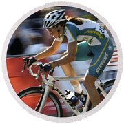 Criterium Bicycle Race 2 Round Beach Towel