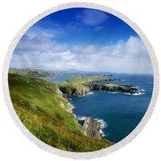 Crookhaven, Co Cork, Ireland Most Round Beach Towel