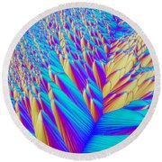 Crystal Vitamin C Round Beach Towel
