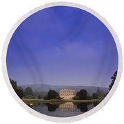 Curraghmore House, Portlaw, Co Round Beach Towel
