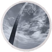 Curved Arch Round Beach Towel