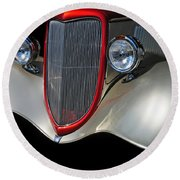 Custom Car Round Beach Towel