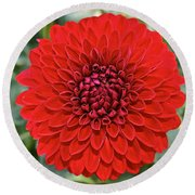 Dahlia 4001 Round Beach Towel