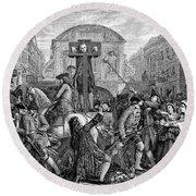 Daniel Defoe (1660-1731) Round Beach Towel