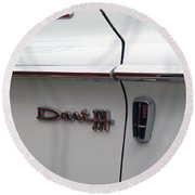 Dart 330 Emblem Round Beach Towel