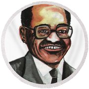 David Blackwell Round Beach Towel