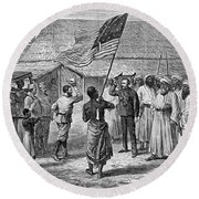 David Livingstone, Scottish Missionary Round Beach Towel by Photo Researchers