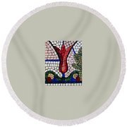 Day Light Round Beach Towel