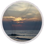 Daylight Approaches 2 Round Beach Towel
