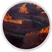 Deadhorse Reflections Round Beach Towel