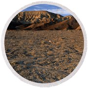 Death Valley Round Beach Towel
