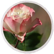Delany Sister Rose Round Beach Towel