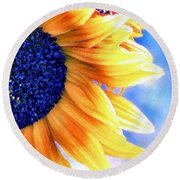 Delight Round Beach Towel
