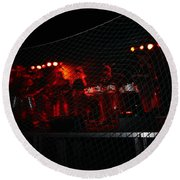 Demon Band Round Beach Towel
